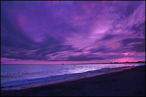 PURPLE SKIES WORLDWIDE - S.T.E.V.E. STRONG THERMAL EMISSIONS VELOCITY ENHANCEMENT!! Beach-colorful-ocean-purple-Favim.com-622338