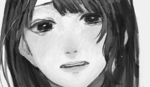 GANTZER - CAPITULO 0 Amazing-anime-black-and-white-cry-Favim.com-670732