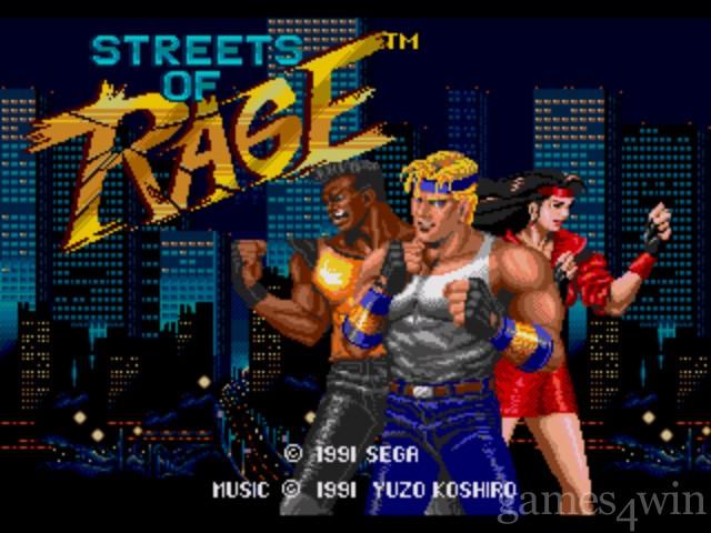 run SEGA game on PC Streets_of_rage_1s