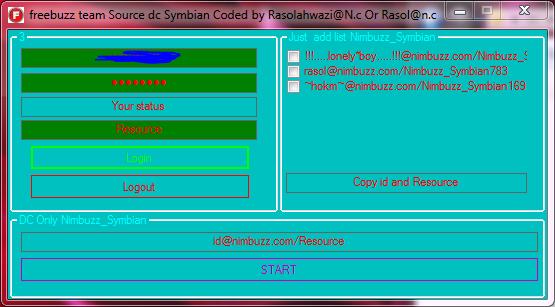 Freebuzz team Source C# Dc Symbian 01144848