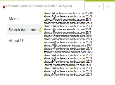 Freebuzz TeaM Source C # Room Searcher Full Speed By Rasol Dcsc3243432