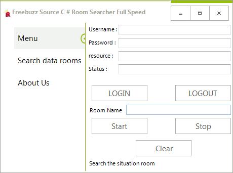Freebuzz TeaM Source C # Room Searcher Full Speed By Rasol Ewdwed3432