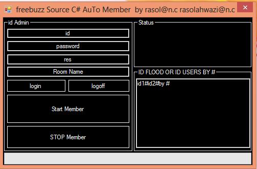 Freebuzz TeaM Source C# AuTo Member by rasol@n.c  Lllllllllll