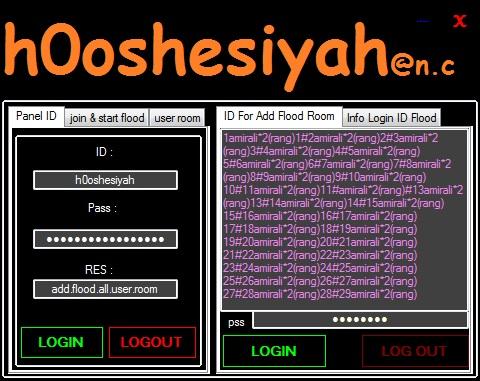 add flood all user room by h0oshesiyah@n.c 2