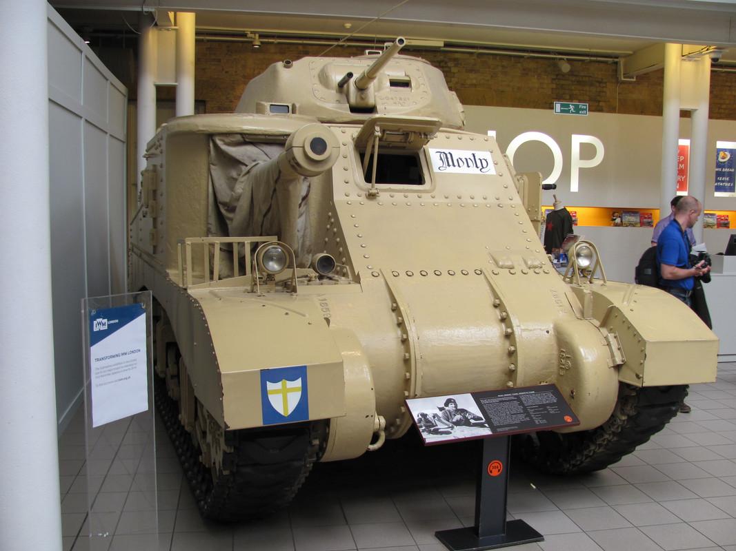 Slike: Imperial War Museum v Londonu (POZOR: VELIKE SLIKE) M3_A3_Grant_tank_Montys_Tank_1