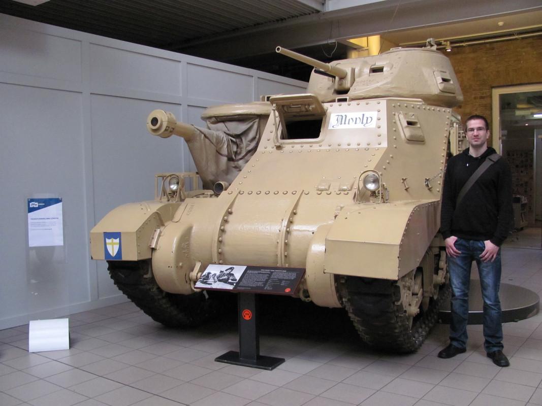 Slike: Imperial War Museum v Londonu (POZOR: VELIKE SLIKE) M3_A3_Grant_tank_Montys_Tank_2