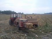 Baliranje kukurozovine kockaste bale Foto0730