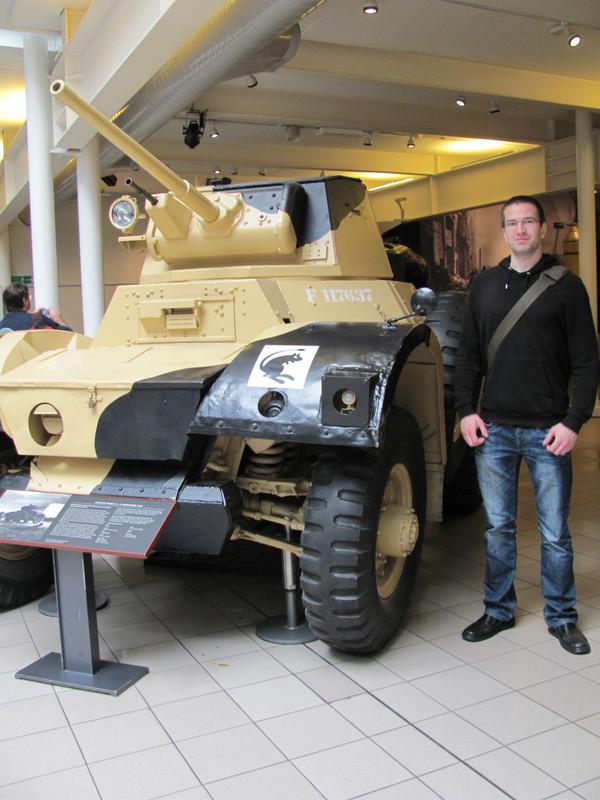 Slike: Imperial War Museum v Londonu (POZOR: VELIKE SLIKE) Tank_na_gumah