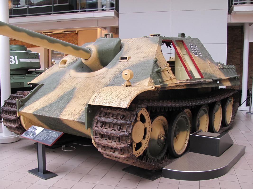 Slike: Imperial War Museum v Londonu (POZOR: VELIKE SLIKE) Jagd_Panther_tank_destroyer_1