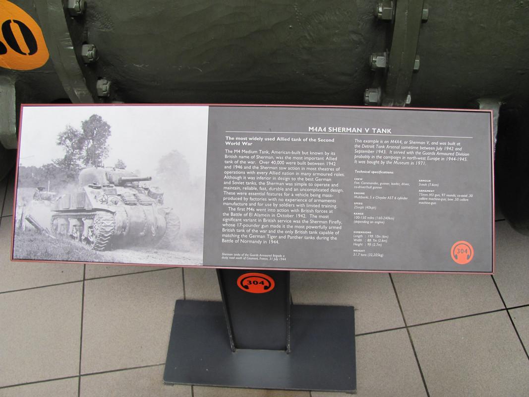 Slike: Imperial War Museum v Londonu (POZOR: VELIKE SLIKE) M4_A4_Sherman_V_tank_0_PIS