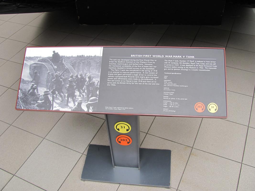 Slike: Imperial War Museum v Londonu (POZOR: VELIKE SLIKE) British_first_world_war_Mark_V_tank_0_PIS