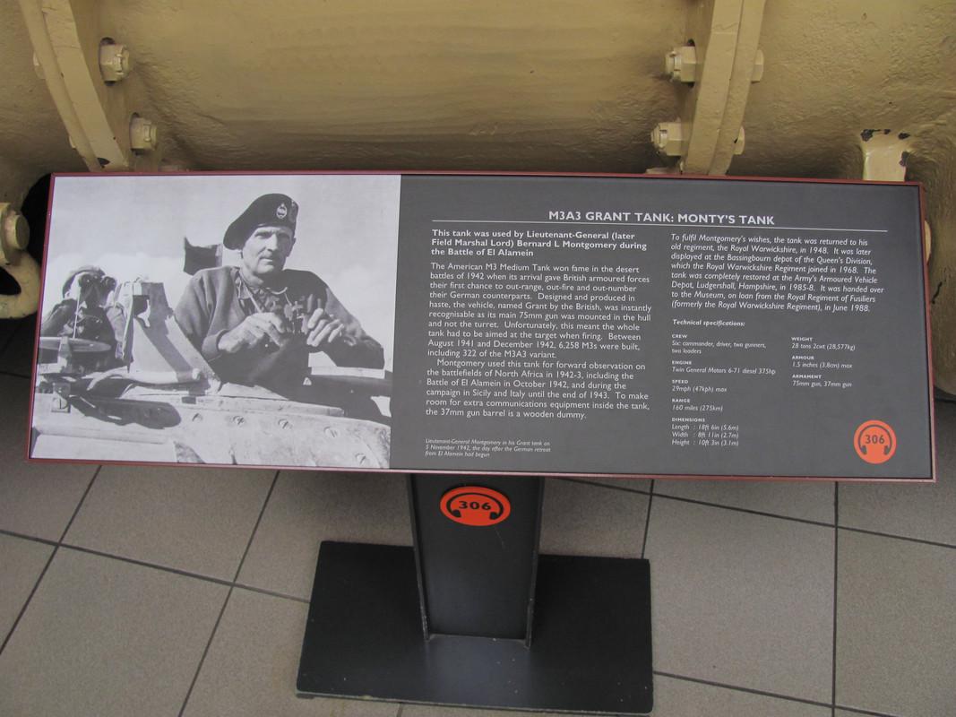 Slike: Imperial War Museum v Londonu (POZOR: VELIKE SLIKE) M3_A3_Grant_tank_Montys_Tank_0_PIS