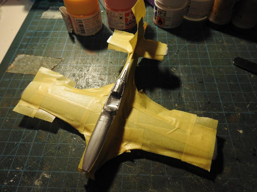North American F-51D Mustang, Airfix, 1/72 - Sida 2 DSCN5822