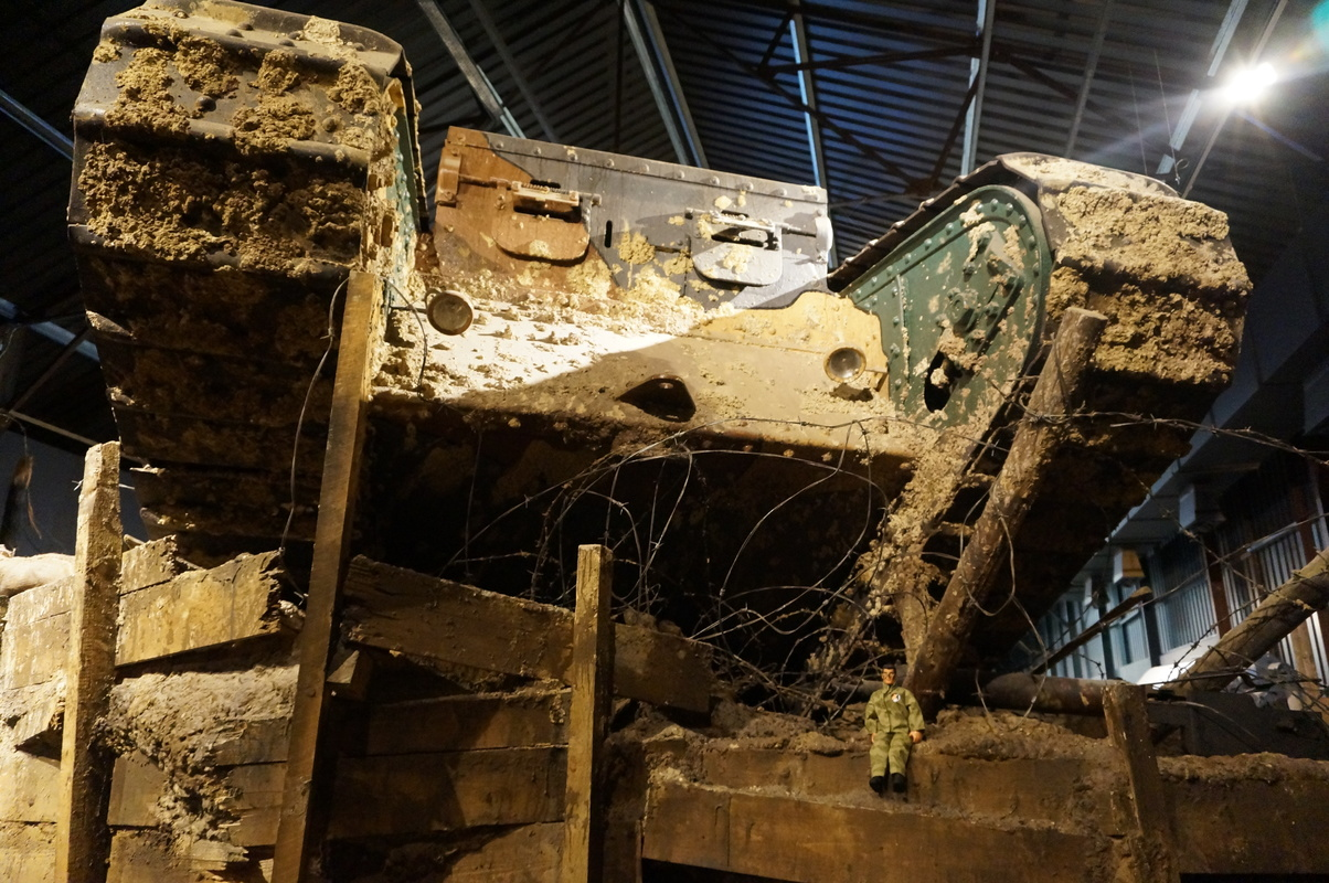 Action Man at Bovington Tank Museum 2016 photos. DSC01250