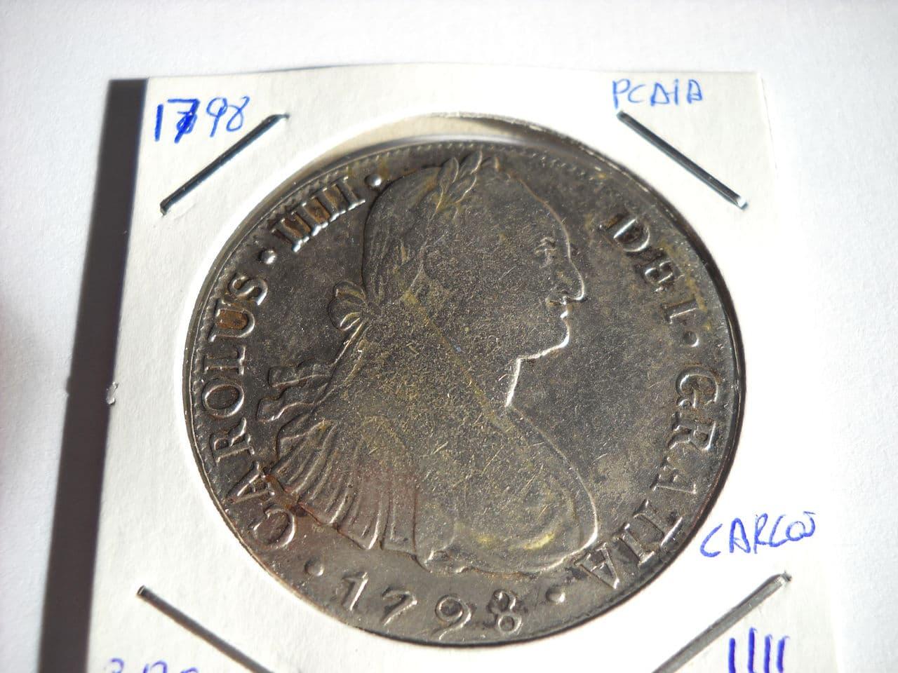 8 reales 1798 Carolus IIII - Lima DSCN0003