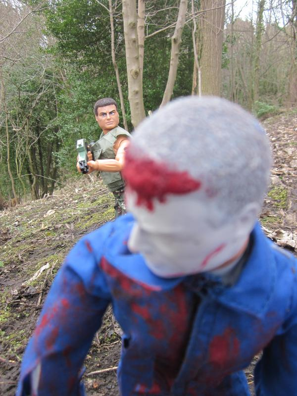 One Zombie Slayer vs one Zombie. (Ackie88) IMG_2322