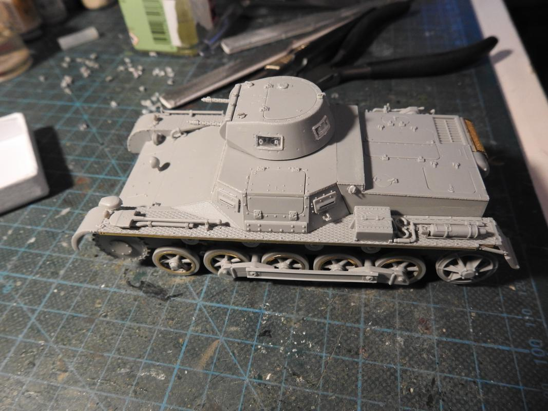 PzKpfw I, Dragon 1/35 DSCN7812