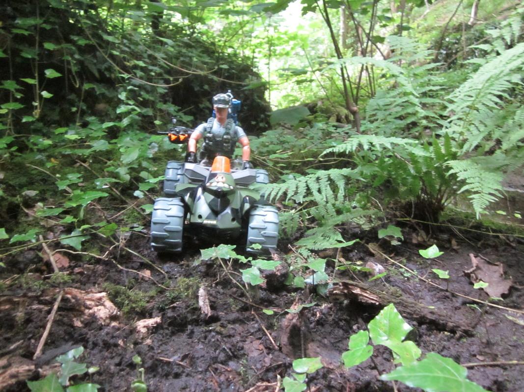 Action Man Quad Assault Woodland Random Photos. IMG_4338