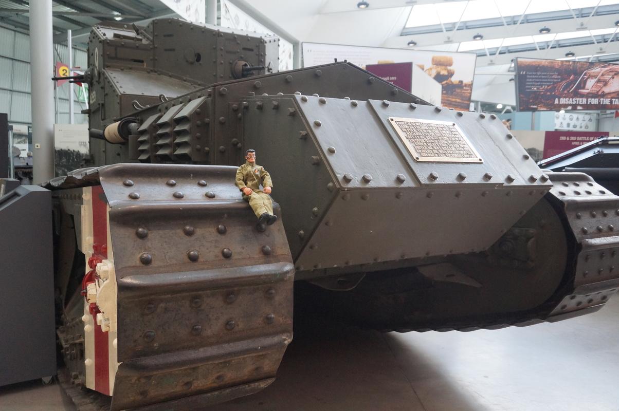 Action Man at Bovington Tank Museum 2016 photos. DSC01201