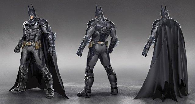 Ficha de Batman Batsuit