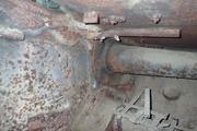 Танк КВ-1 изнутри (№ 9854), Ропша, Ленобласть. P6230113