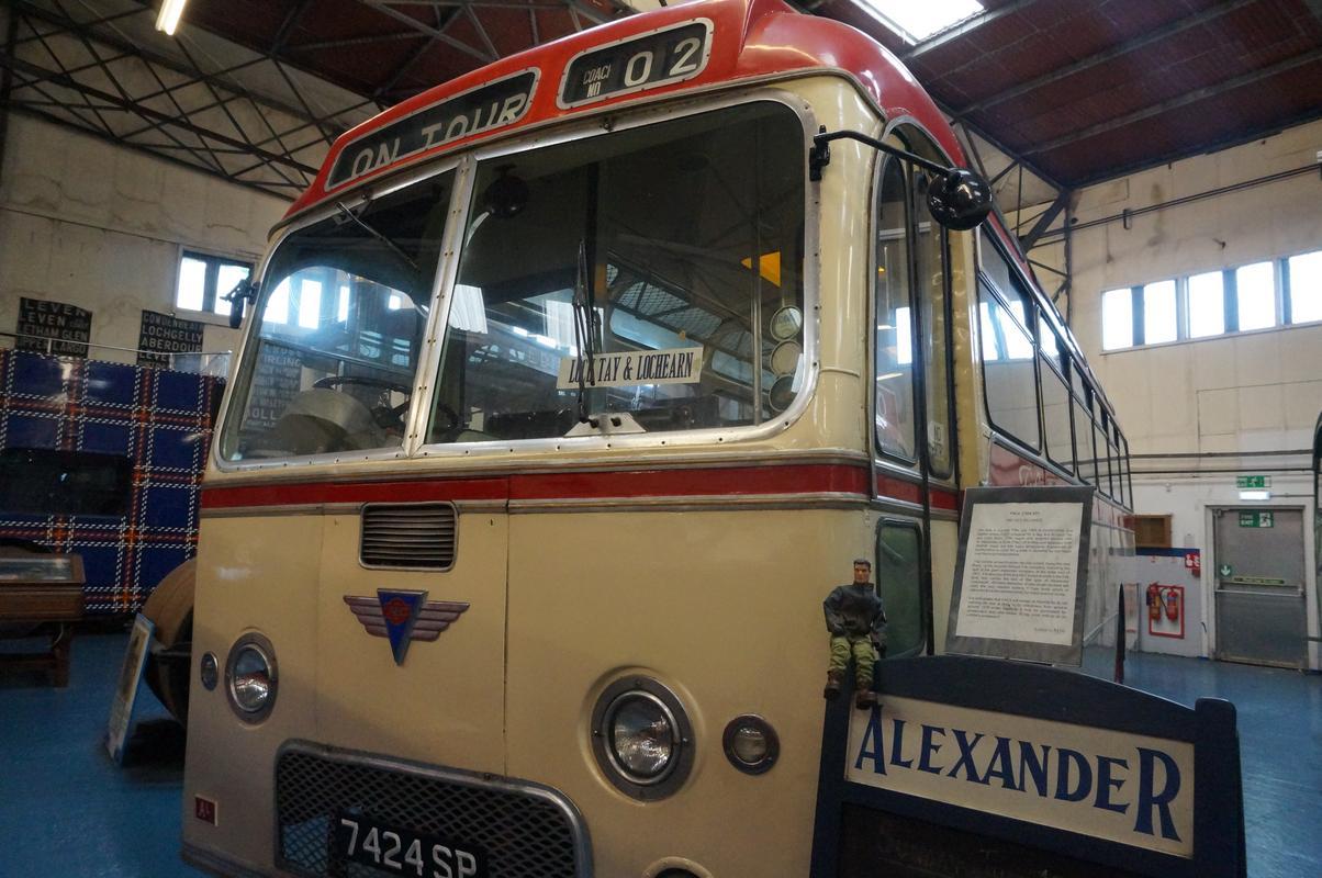 MAM visiting The Scottish Vintage Bus Museum. FA8_CC953-_B38_C-4_CBD-_BED5-_F511_B314_D4_EB