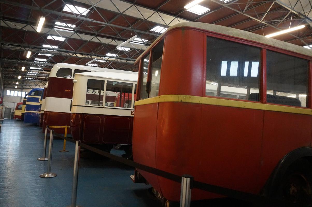 MAM visiting The Scottish Vintage Bus Museum. 9837_AF98-9_C17-46_FF-9408-5044_DFFB7_B2_F