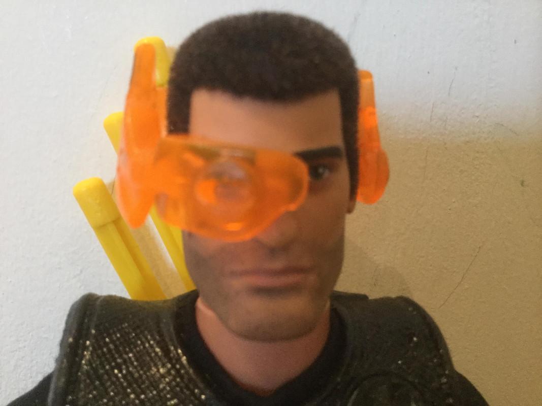 My vigilante bowman is wearing a new head piece. IMG_0303