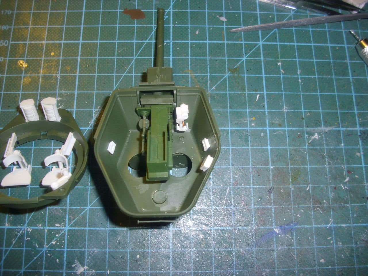 T-34/76 1943 early model. ICM 1/35 - Sida 3 DSCI0546