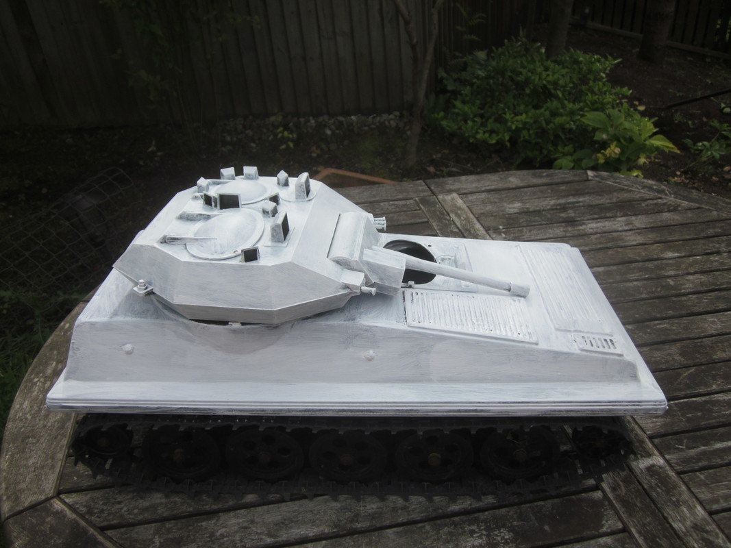 My Tank covered in Primer IMG_4648