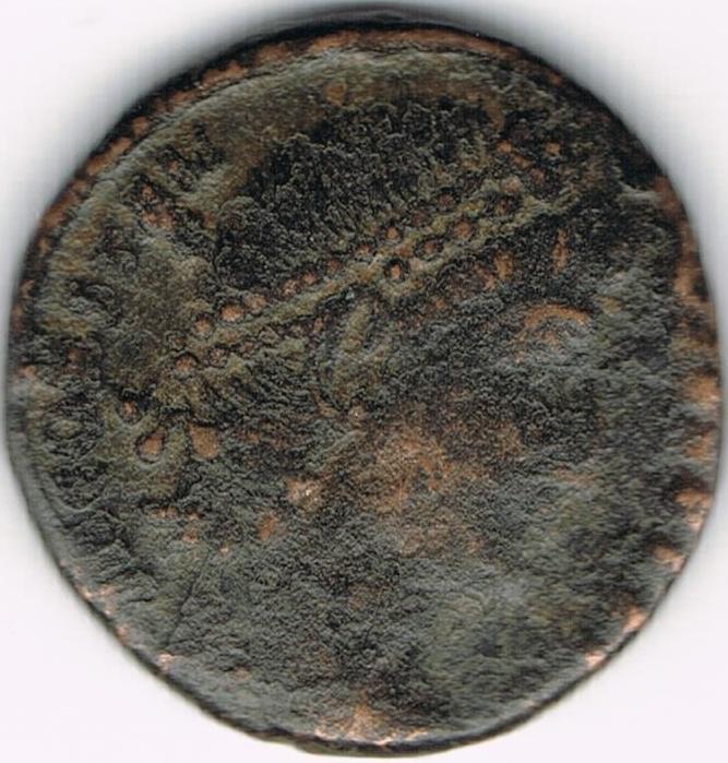 AE4 de Constancio II, VOT XX MVLT XXX. IR26a