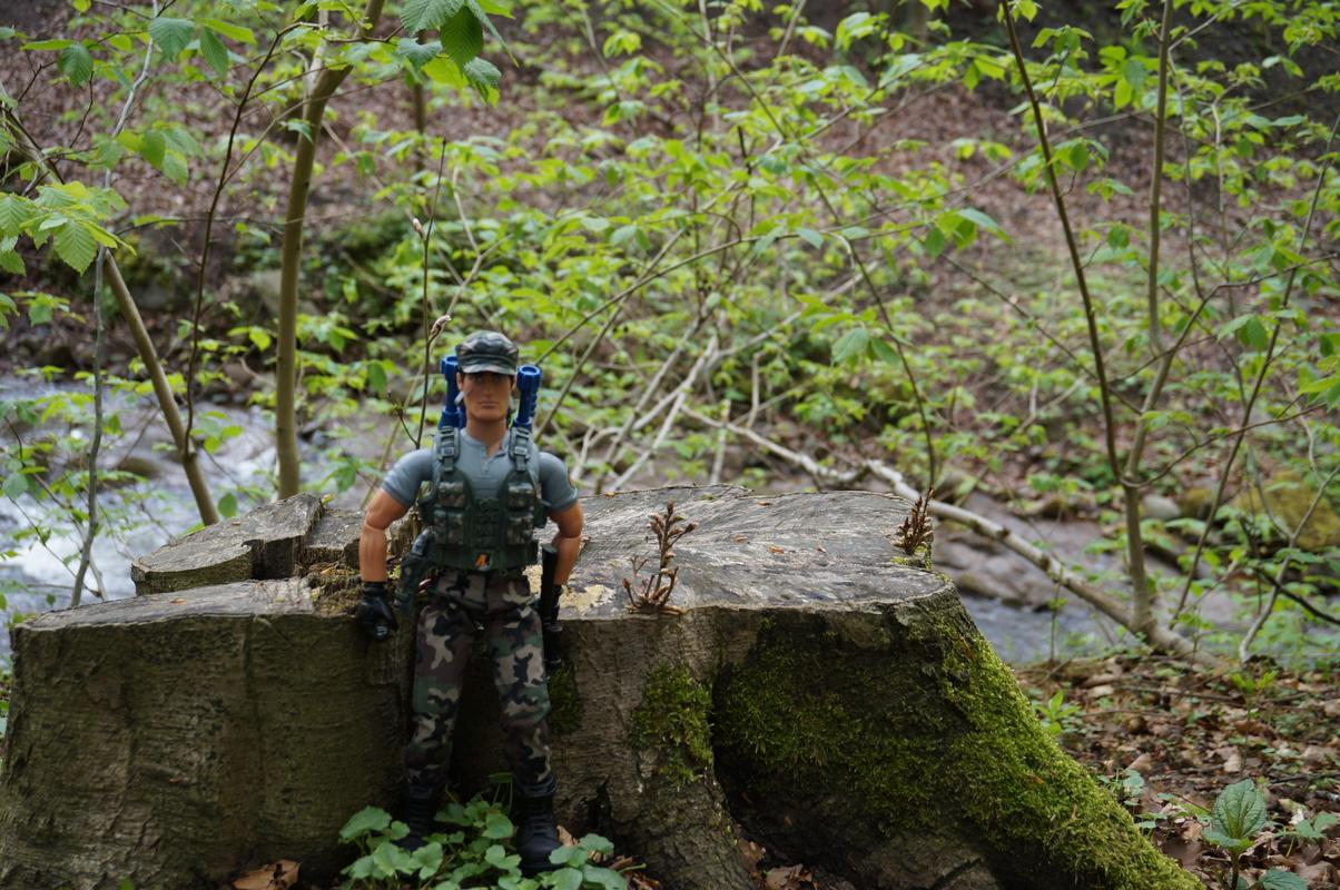 My Action Man Mortar Combat Mission Raid Random Woodland Photos DSC00691