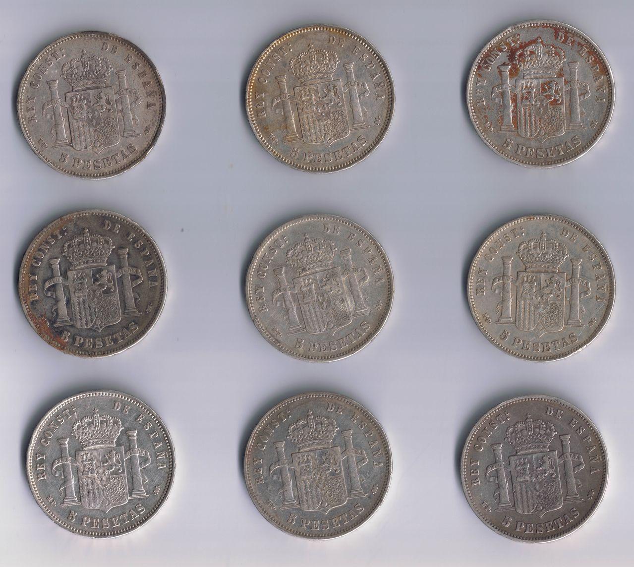 5 pesetas 1888 Alfonso XIII - Página 4 Duros_1888_reverso_2