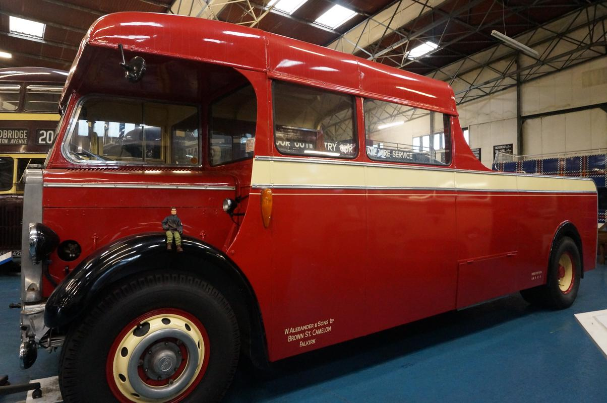 MAM visiting The Scottish Vintage Bus Museum. B83_C05_D5-773_E-4_DF5-8_B26-37_A3702231_A8
