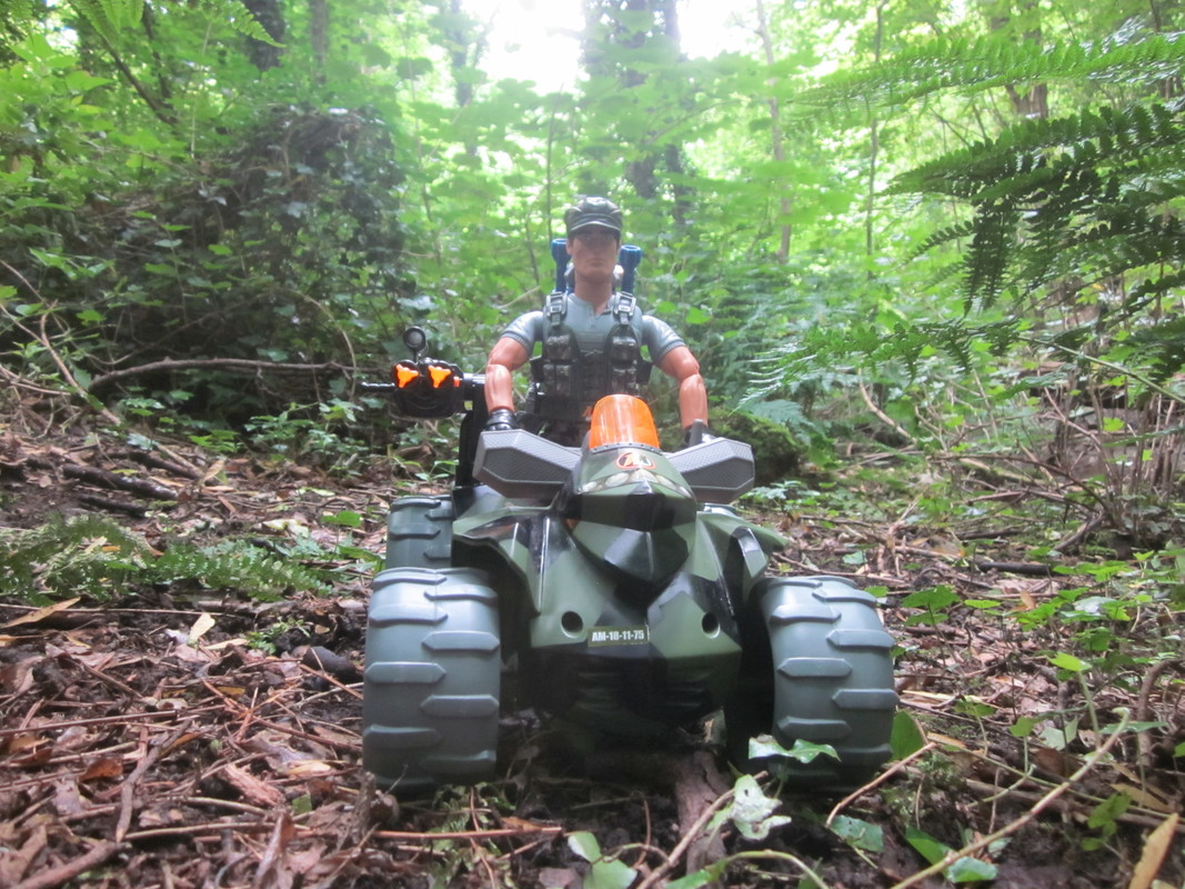 Action Man Quad Assault Woodland Random Photos. IMG_4330