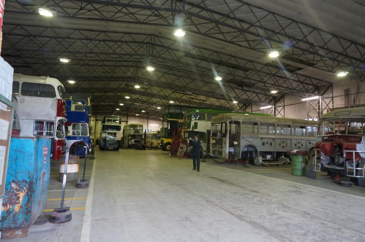 MAM visiting The Scottish Vintage Bus Museum. 42738_F54-_EC34-4190-8_A02-3_AA5_A634_A8_EE