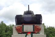 Танк КВ-1 изнутри (№ 9854), Ропша, Ленобласть. P6230360