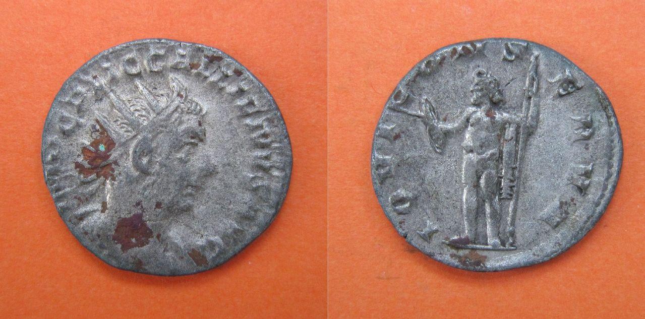 Antoniniano de Galieno. IOVI CONSERVA. Roma Antoniniano_Galieno_IOVI_CONSERVA