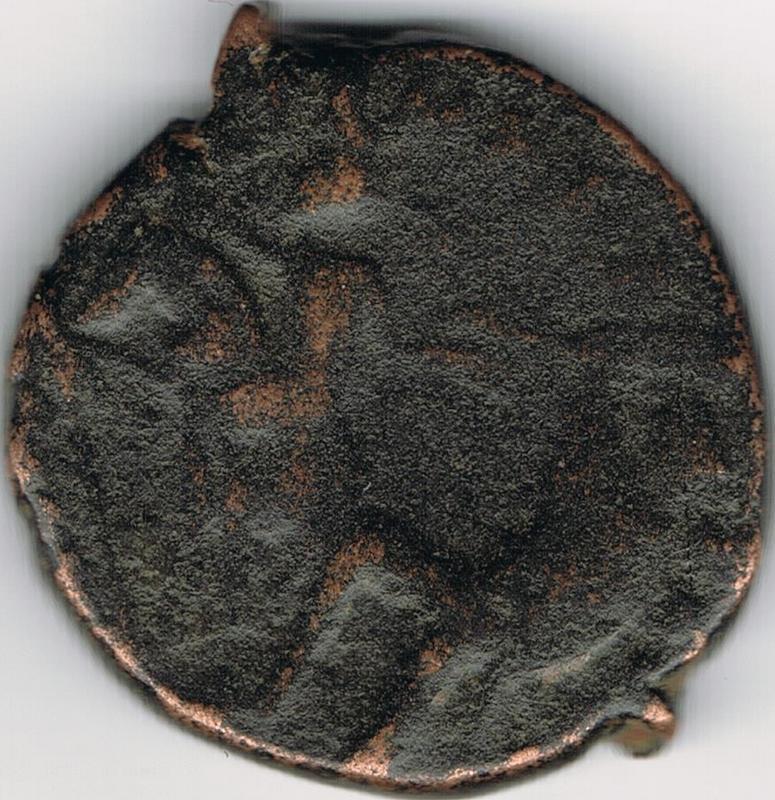 AE3 de Constante I. FEL TEMP REPARATIO. Soldado romano alanceando a jinete caído. IR46_B