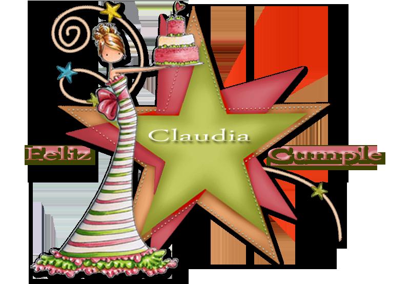 FELIZ CUMPLEAÑOS CLAUDIA /23/ DE MARZO/2018 Claudia2018