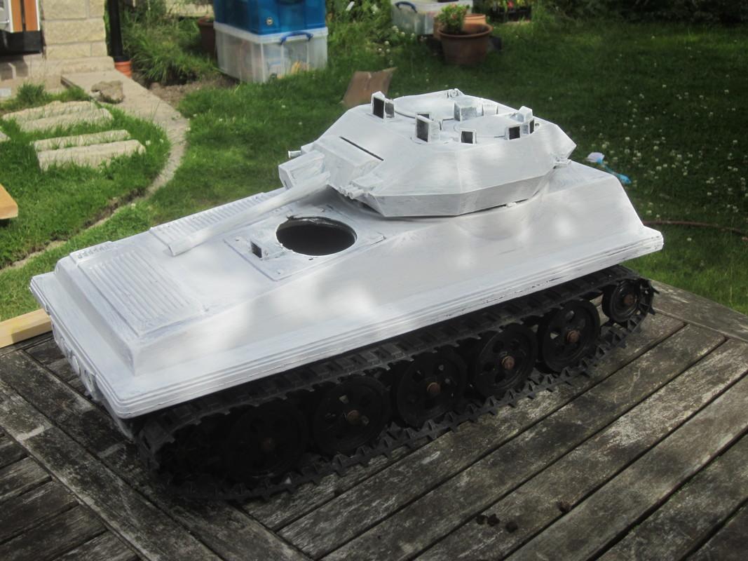 My Tank covered in Primer IMG_4650