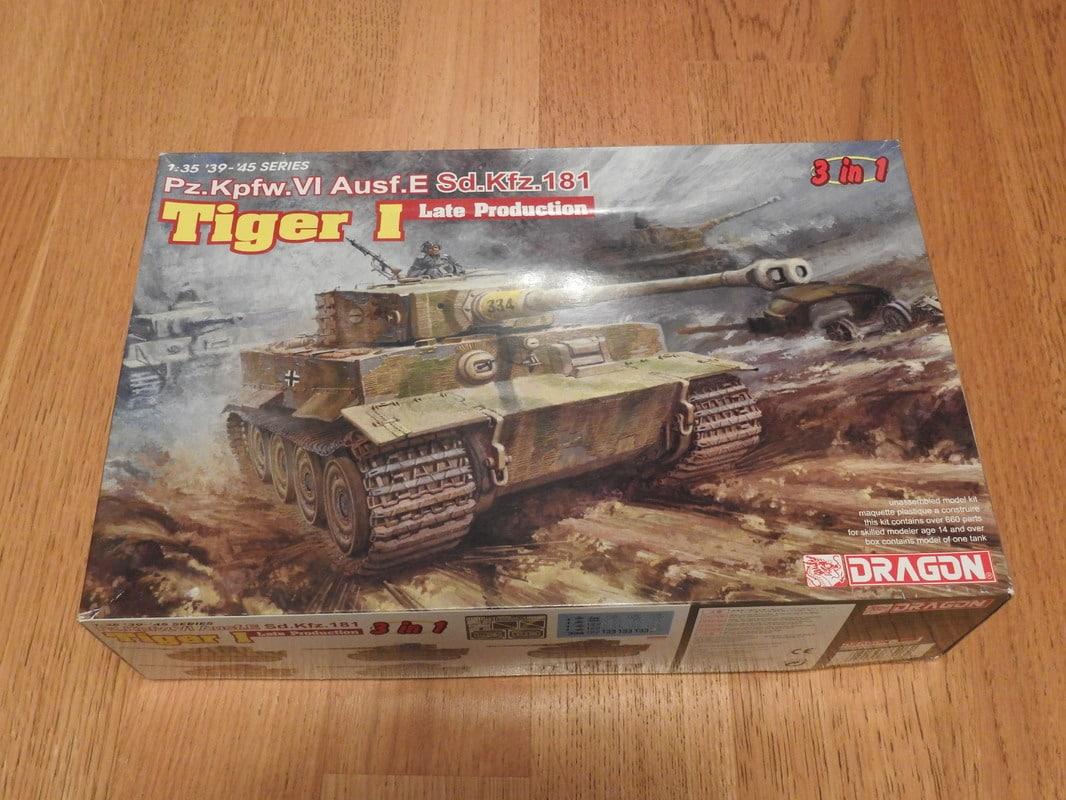 Tiger I, Dragon, 1/35 DSCN1623