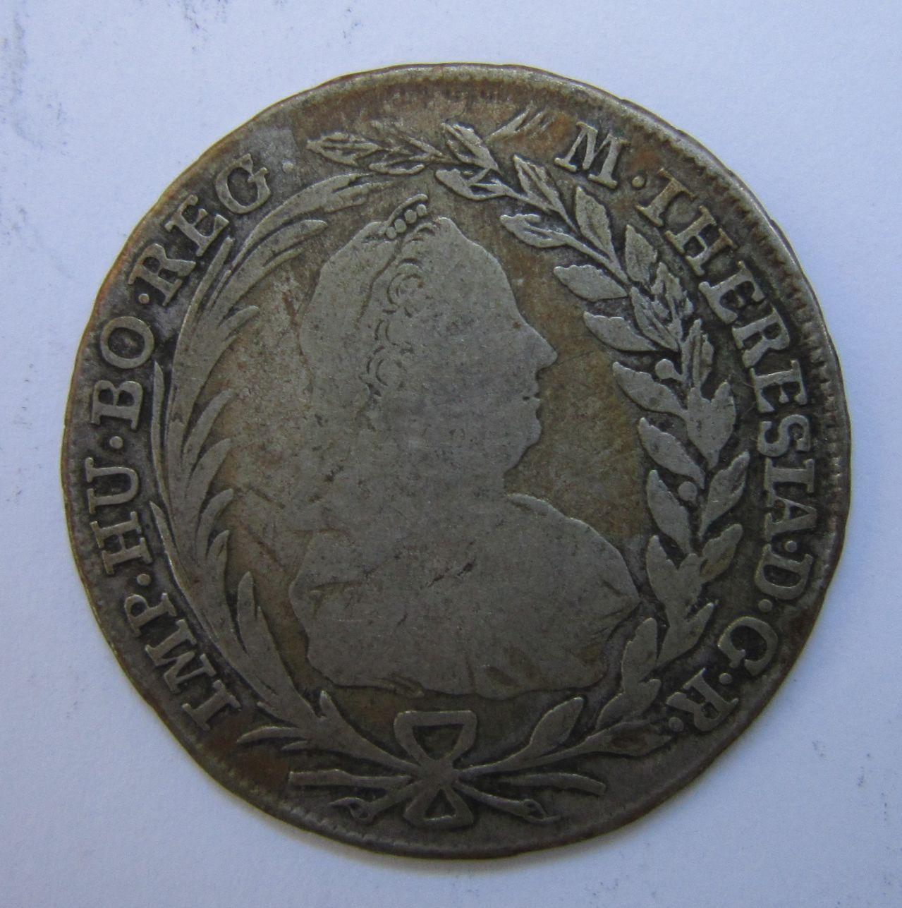 20 kreuzer 1772. Viena (Austria). Maria Theresa I. 20_kreuzer_1772_Viena_anv