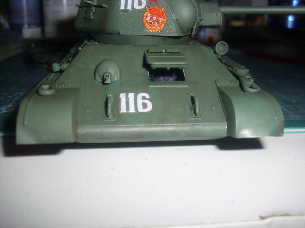T-34/76 1943 early model. ICM 1/35 - Sida 4 DSCI0738