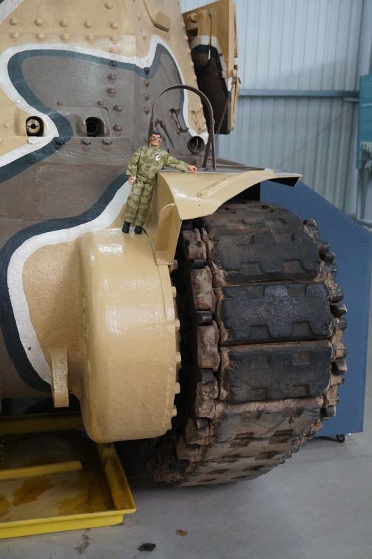 Action Man at Bovington Tank Museum 2016 photos. DSC01215