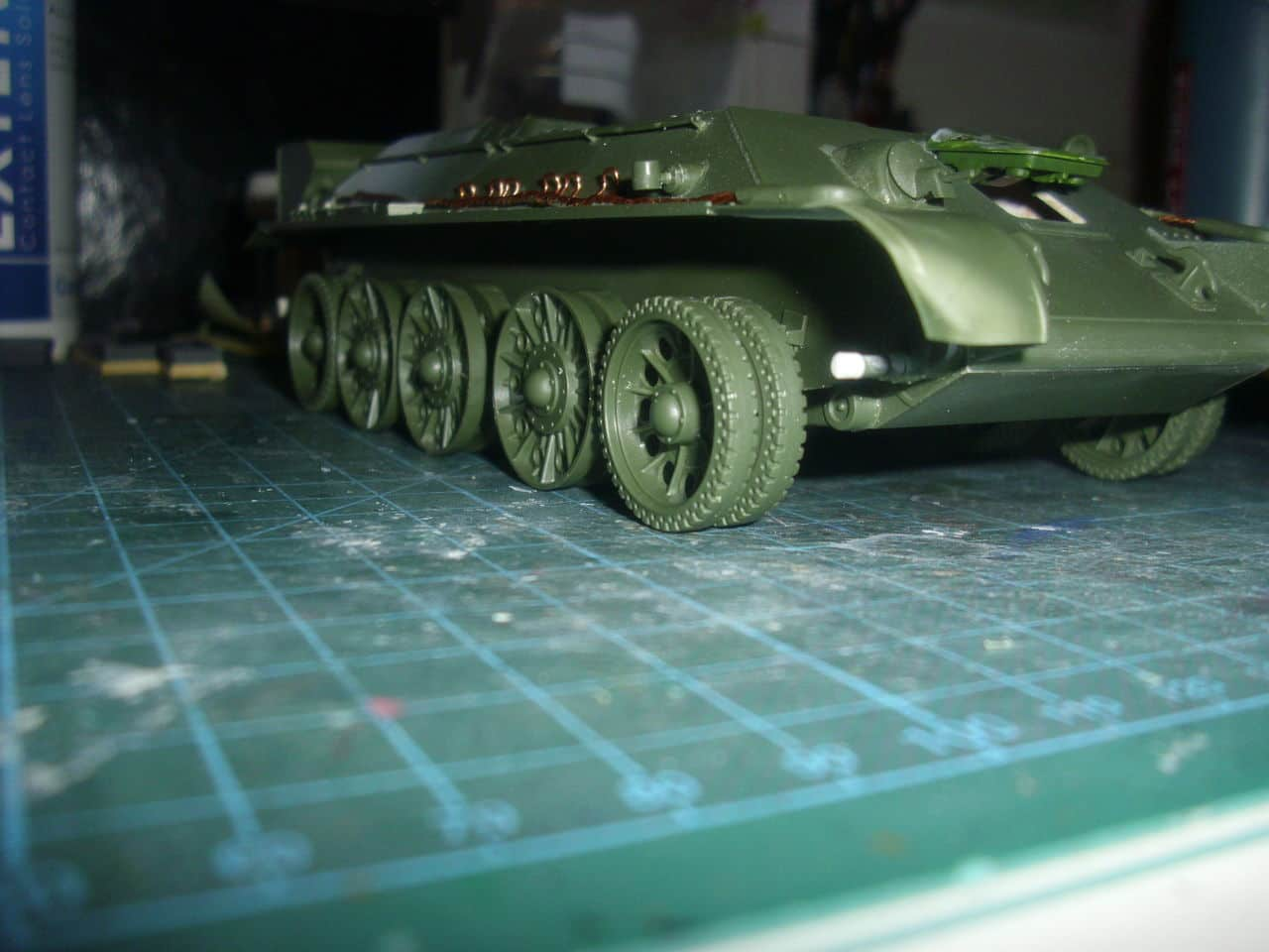 T-34/76 1943 early model. ICM 1/35 - Sida 4 DSCI0651