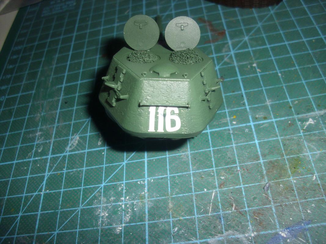 T-34/76 1943 early model. ICM 1/35 - Sida 4 DSCI0721