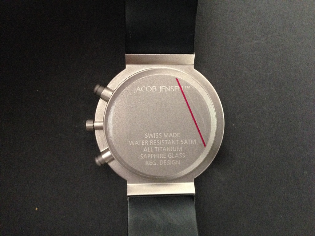 [Vendo] Relógio Jacob Jensen Chronograph 600 Titanio - Quase Novo 6_IMG_6005