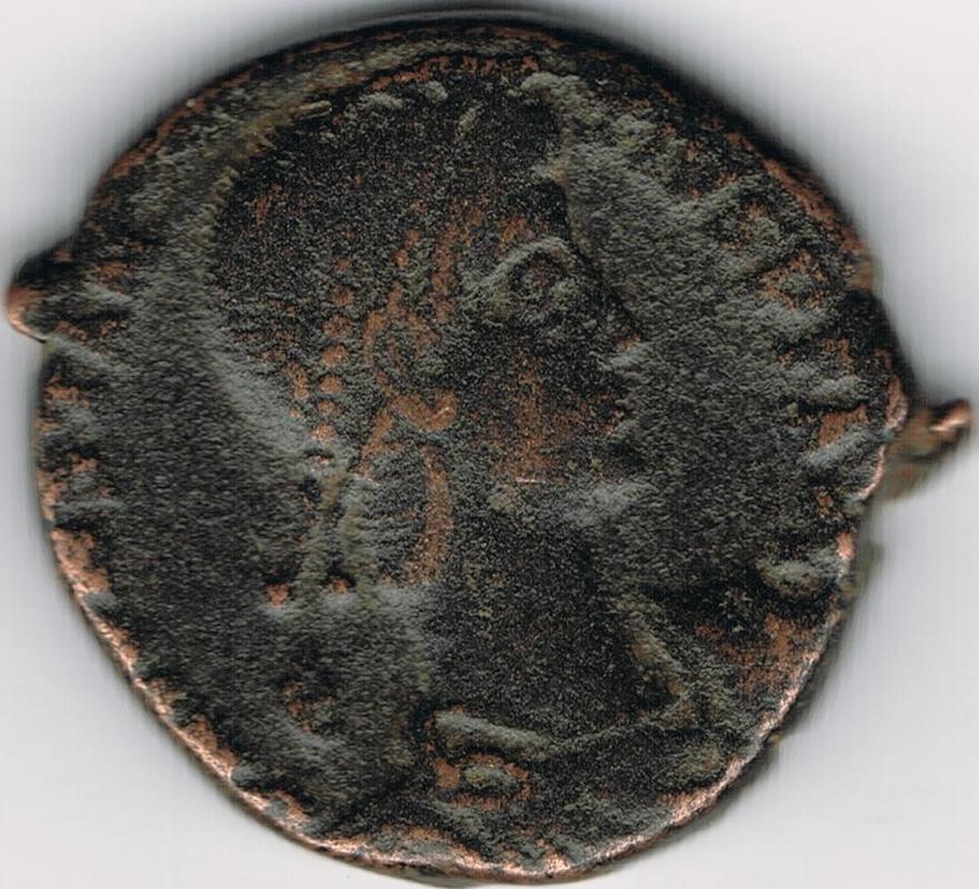 AE3 de Constante I. FEL TEMP REPARATIO. Soldado romano alanceando a jinete caído. IR46_A