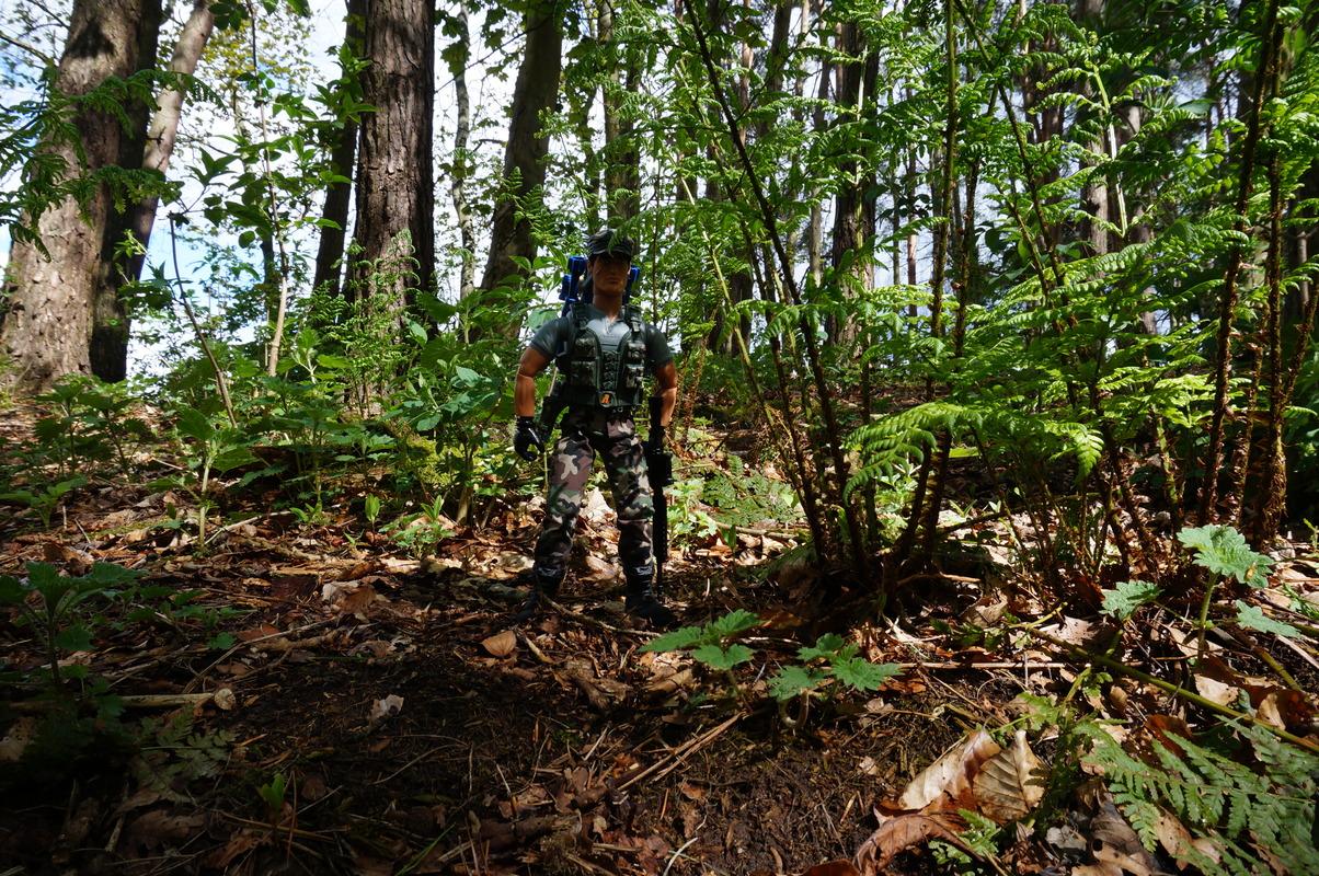 My Action Man Mortar Combat Mission Raid Random Woodland Photos DSC00684
